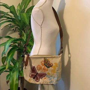 Fossil Butterfly crossbody bag
